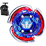 Beyblade Metal Fusion 4D High Performance Battling Top with Burst String Launcher Power Booster Starter Battle Set Funny Spinning Top