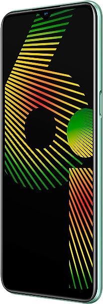 "Comprar realme 6I – Smartphone de 6.5"", 4 GB RAM + 128 GB ROM, Procesador Helios G80, Cuádruple Cámara AI 48MP, Dual Sim, Color Green Tea"