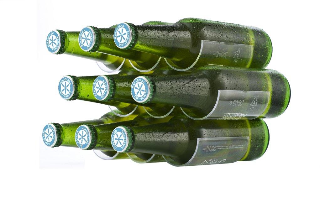 RakaStaka/ /Soportes para botellas de cerveza
