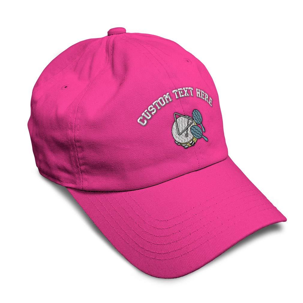 Custom Soft Baseball Cap Percussion Accessories Embroidery Twill Cotton