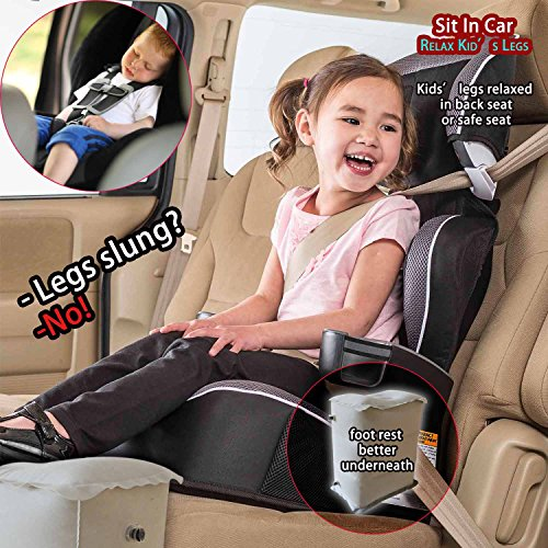70OFF SYCOTEK Foot Rest Travel Car Seat Footrest Inflatable With Adjustable Height To