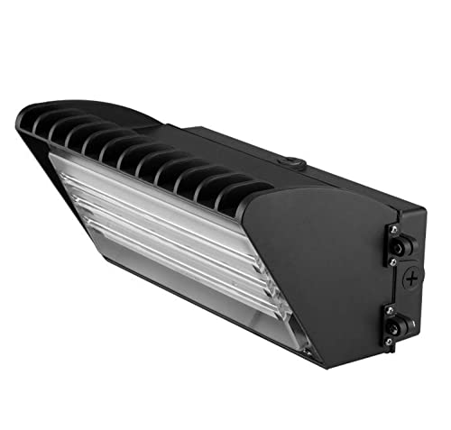 1000LED LED Wall Pack Light, 70W 7,200Lm, 600W HPS HID Eq., Daylight White 5000K Waterproof Outdoor Wallpack Lighting