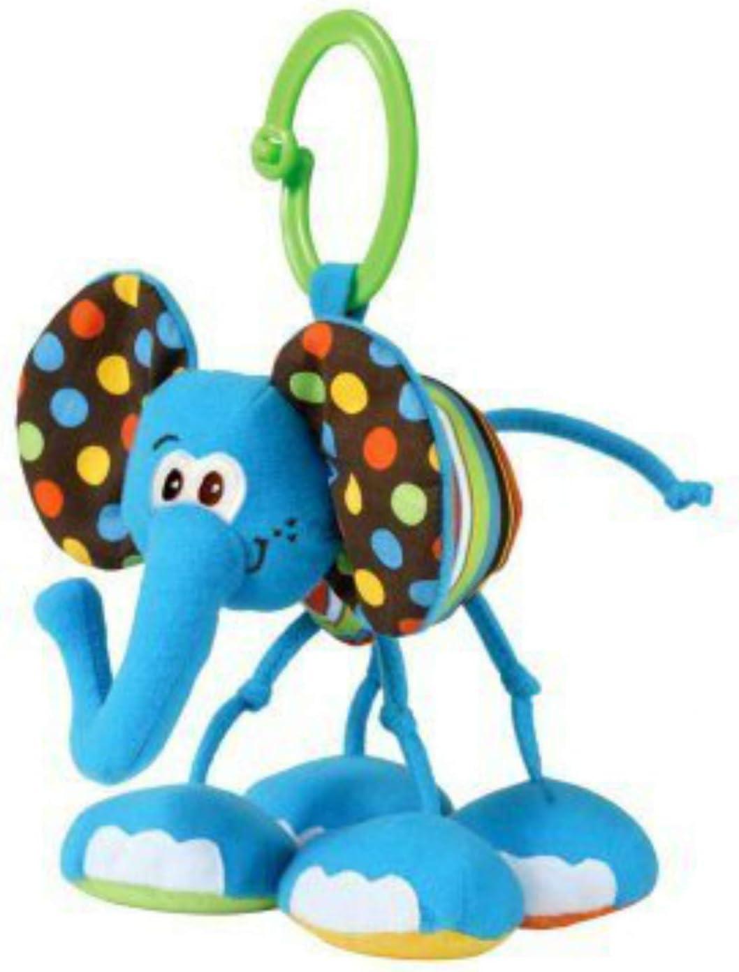 Infantino Pull /& Play Jittery Pal Asstd Elephant//Giraffe