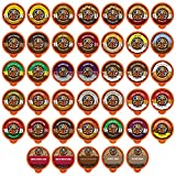 Crazy Cups Flavored Coffee, for the Keurig K Cups 2.0 Brewers, Variety Pack Sampler, 40 Count
