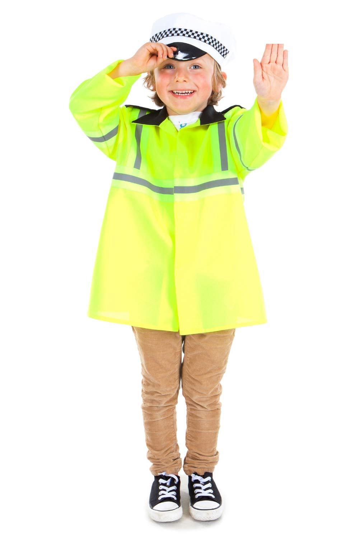Boys Toys - Disfraz de policía para niño, talla 3-5 años ...