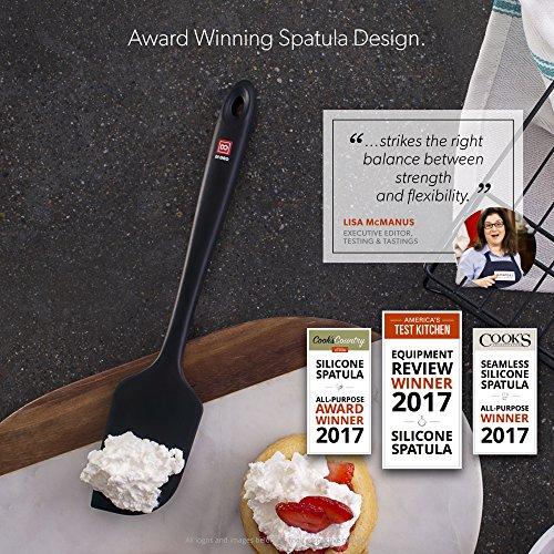 America S Test Kitchen Di Oro Living Seamless Silicone Spatula
