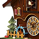 Kintrot Cuckoo Clock Black Forest Chalet House