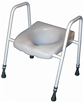 Toilet Frame With Seat.Aidapt President Raised Toilet Seat And Frame Eligible For Vat Relief In The Uk