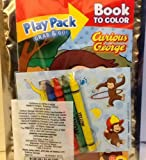Play Pack Grab & Go! Curious George! Crayons Stickers Coloring Book
