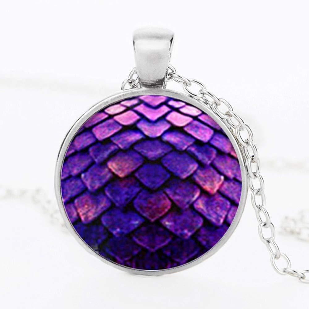 Mens necklace Big Egg Necklace Pendant Set Necklace Crystal Pendant Necklace Gem Dragon Ball E Dragon Ball Jewelry
