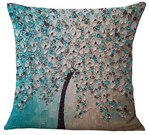 chezmax-oil-painting-home-decorative-cotton-linen-throw-pillow-cover-cushion-case-square-pillowslip-