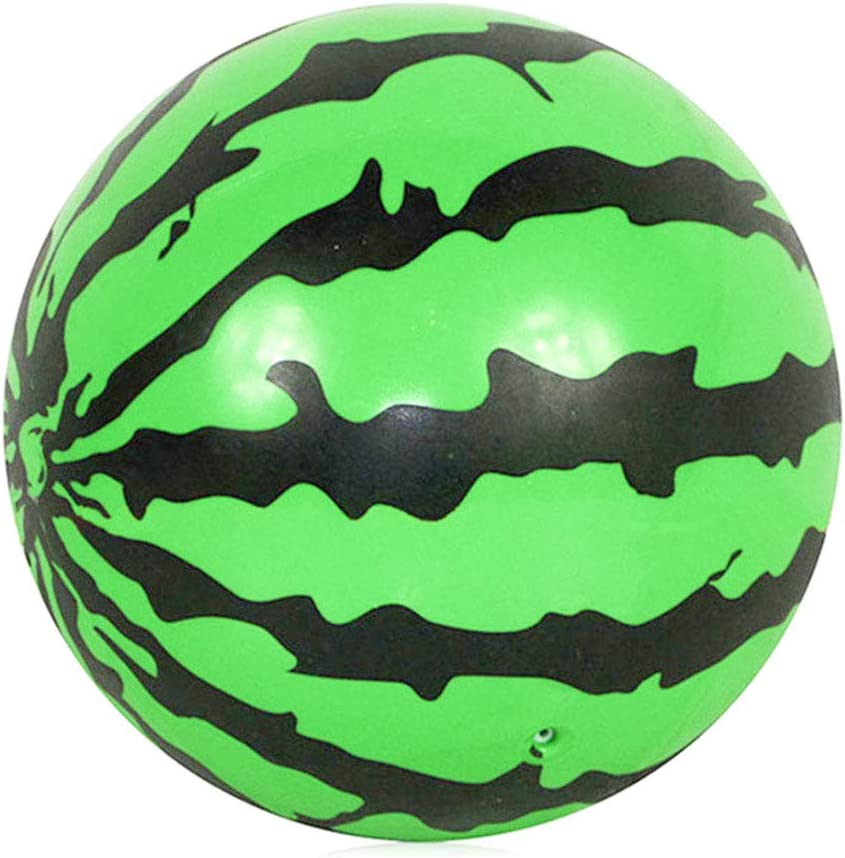 Green Suang Watermelon ball-underwater game pool toy-durable ball suitable for pool football basketball and rugby-suitable for water party-suitable for adults and children-6.5 inch