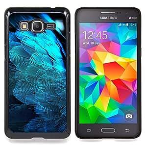 "Planetar ( Plumas Light Blue Angel Wings Pájaro Espiritual"" ) Samsung Galaxy Grand Prime G530F G530FZ G530Y G530H G530FZ/DS Fundas Cover Cubre Hard Case Cover"
