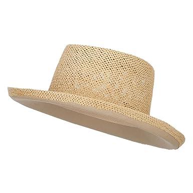 ddb6e0a4 MG Gambler Shape Toyo Hat - Natural OSFM at Amazon Men's Clothing store: