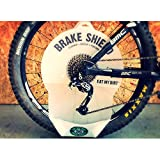 Brake Shield Bike cassette and chain cleaning brake disc protecto
