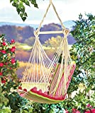 Pink Stripe Swinging Chair Hammock