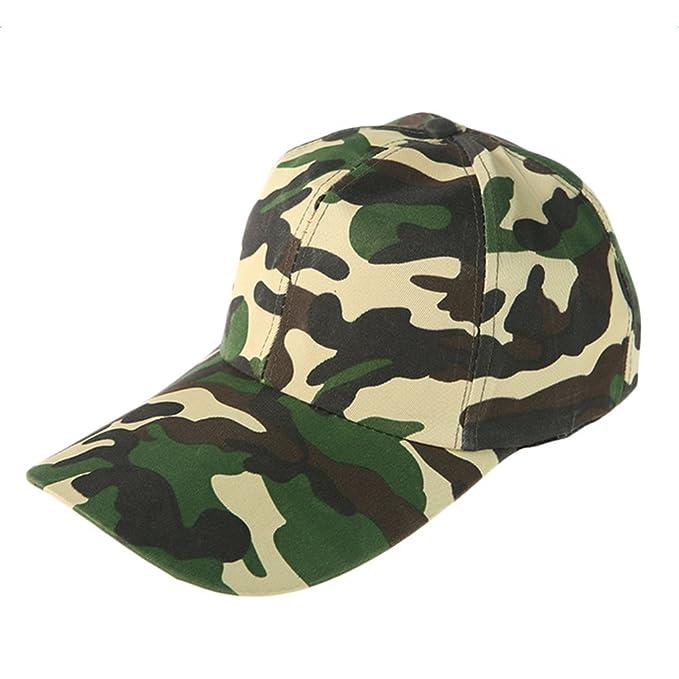 WeiMay camuflaje gorra de béisbol cadete ejército gorras lavado algodón ejército militar capo camuflaje y4ysi