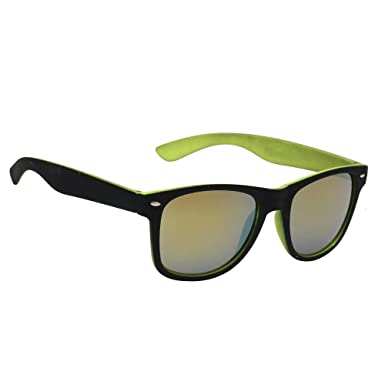 6c7edd287ca Hawai Trendy Unisex UV Protected Yellow Wayfarer Sunglass  Amazon.in   Clothing   Accessories