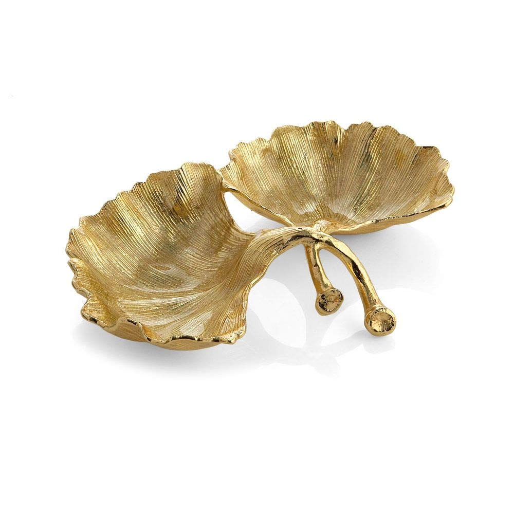 Michael Aram 175661 Cmptmnt Dish, Gold