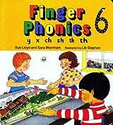 Finger Phonics Book 6: y, x, ch, sh, th, th: Y, X, Ch, Sh, Th, Th Bk. 6 (Jolly Phonics)
