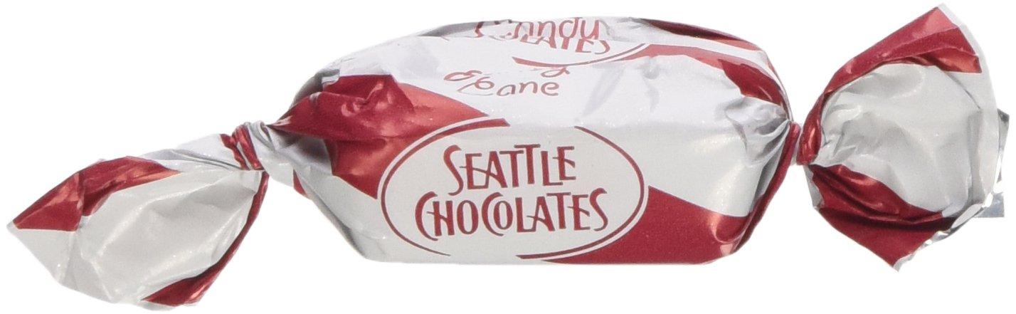Seattle Chocolates Candy Cane Bulk Truffles, 5 Pound
