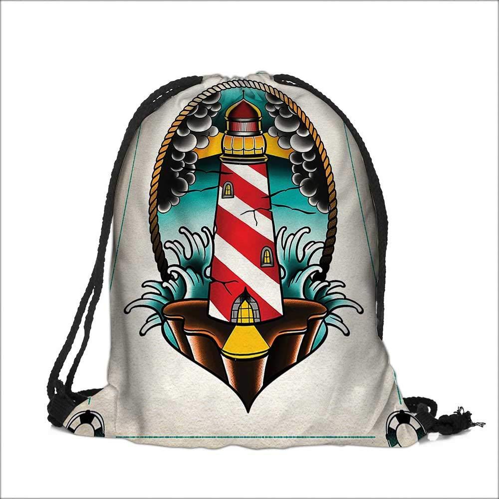 Drawstring Sacks Bundle Pocket Bag for Kids Art Man Body Lungs Internal Organ Physics with Several Moths Living Design with Drawstring Camping Travel 14W x 17.5H Analisahome SKD-fok-0820-12984K35.5xG45.5