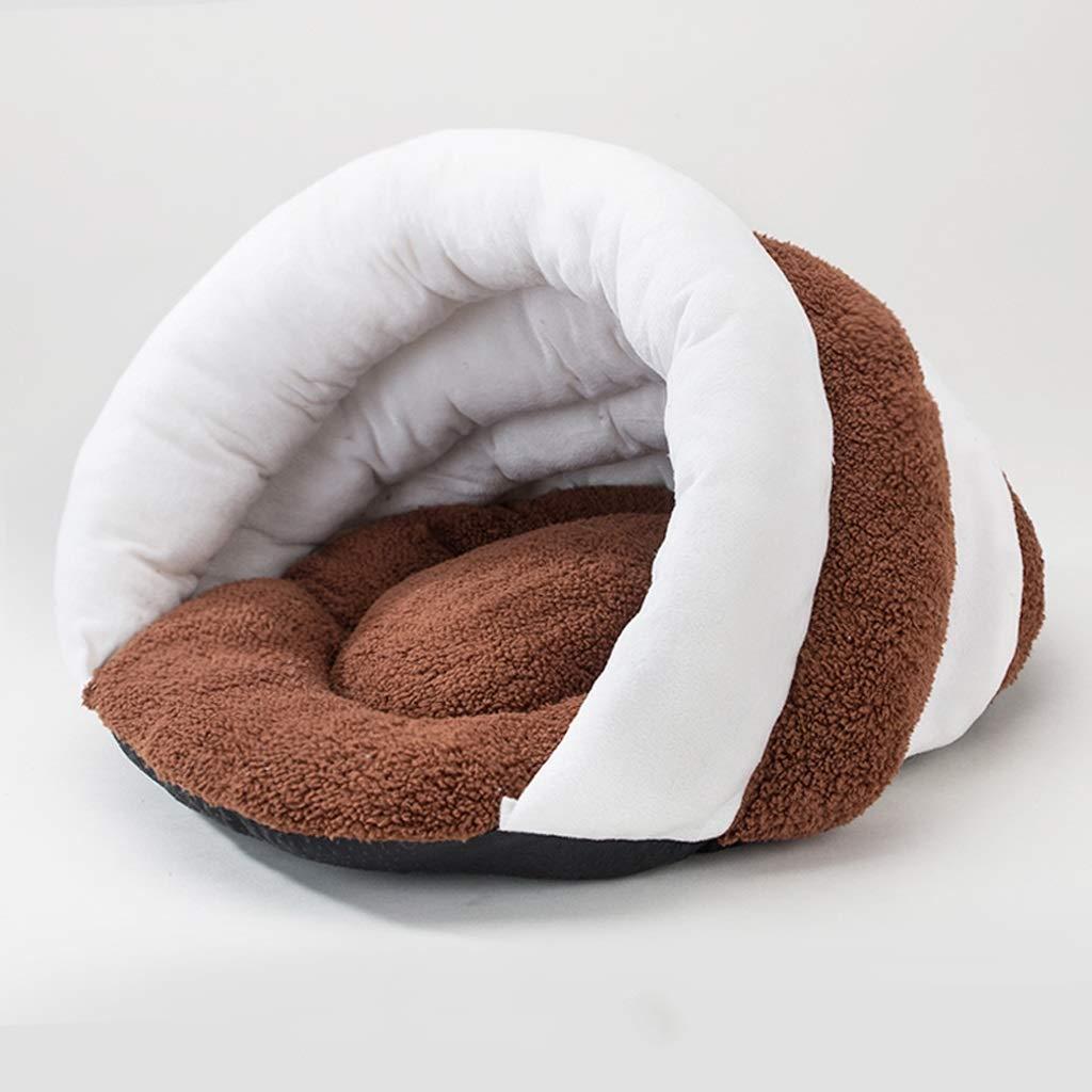 M Simple Brown Pet Fossa Four Seasons Universal Warm Pet Supplies (Size   M)