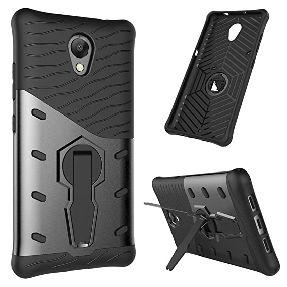 new concept 7ec84 63405 Lenovo Vibe P2 Case P2 Cover Silicone TPU + PC Double Layer Protection  Dropping Ultra Durable Case For Lenovo Vibe P2 (Black)