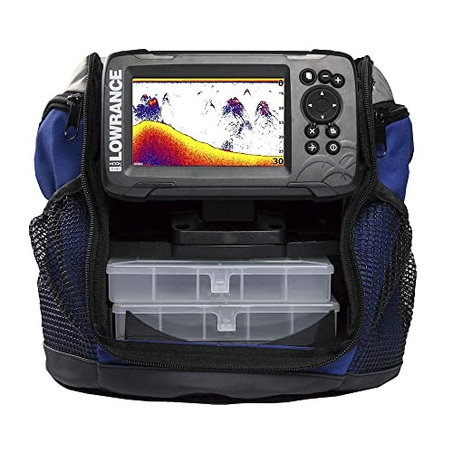 ​Lowrance HOOK2-5 Fishfinder Ice Machine Pack with SplitShot 2-in-1 Sonar