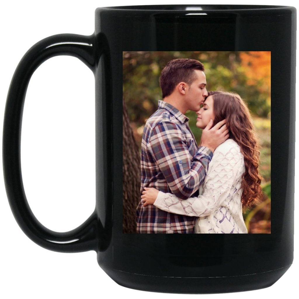 Personalized Coffee Mug for Father Day - Add Your Photo/Logo to Customized Travel, Beer Mug - Great Quality for Gift (Black, 15 oz) by BestEquips (Image #3)