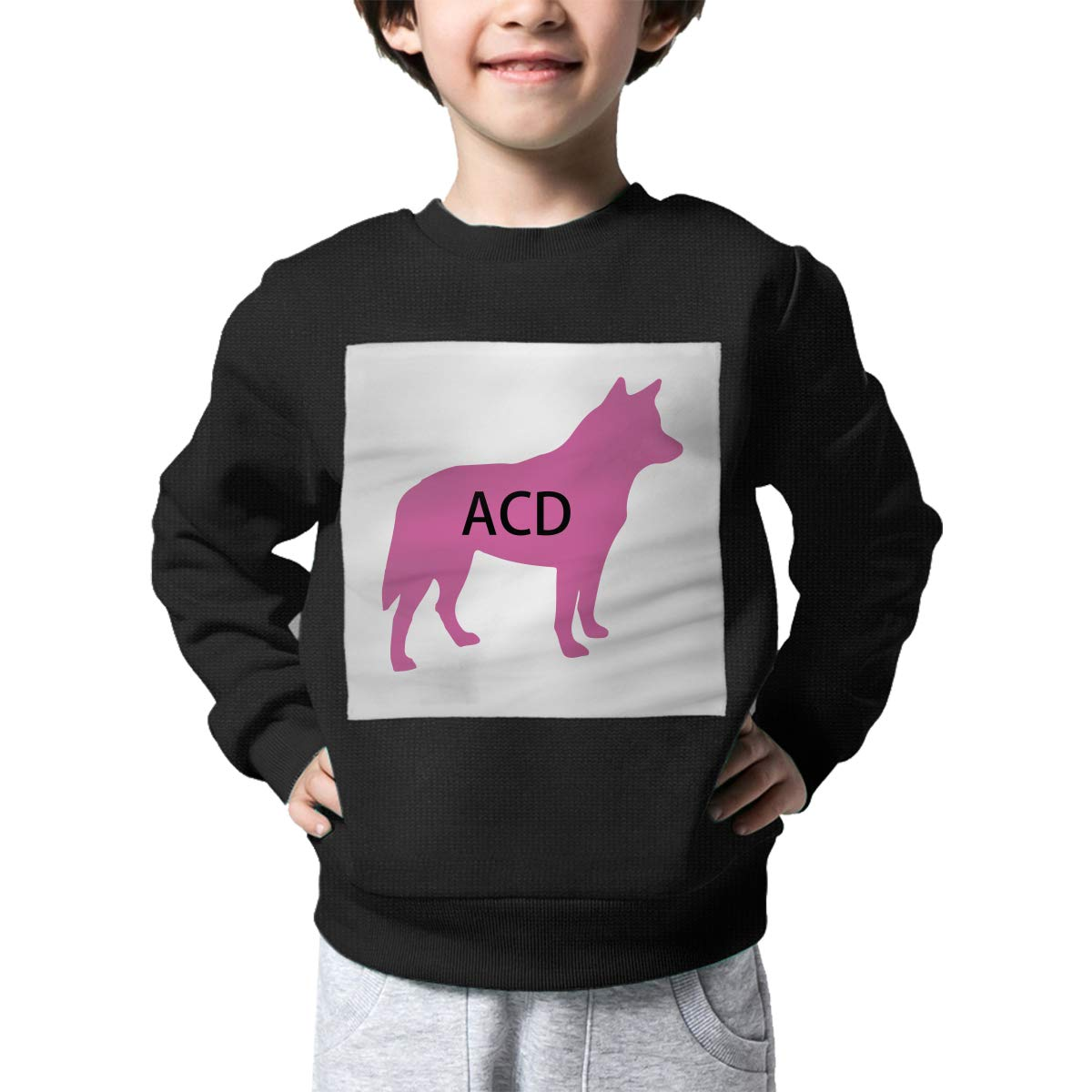 AW-KOCP Childrens Australian Cattle Dog ACD Sweater Boys Girls Sweatshirt