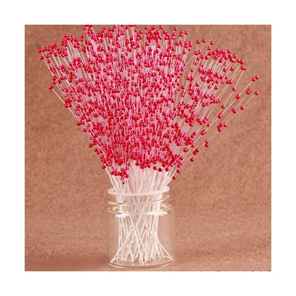100-Stems-Faux-Pearl-Spray-Beads-Wire-Stems-Wedding-Bridal-Flower-Bouquet-Party-Table-Decor-Red