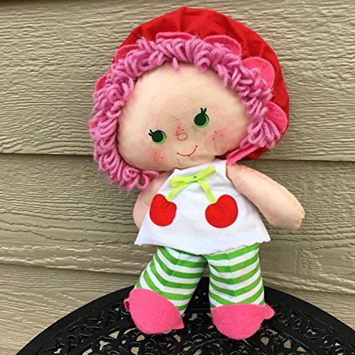 Strawberry Shortcake Kenner 1983 Cherry Cuddler Vintage Rag Doll Fruit Scented