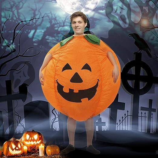 Hotu - Disfraz de Calabaza Hinchable para Halloween, Disfraz de ...