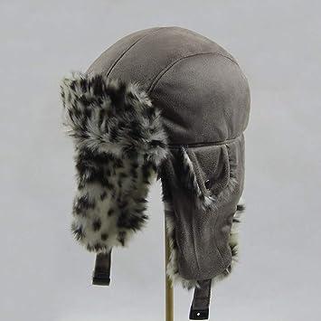 Tingxx Orejeras Calientes para El Invierno Gorro Sombrero ...