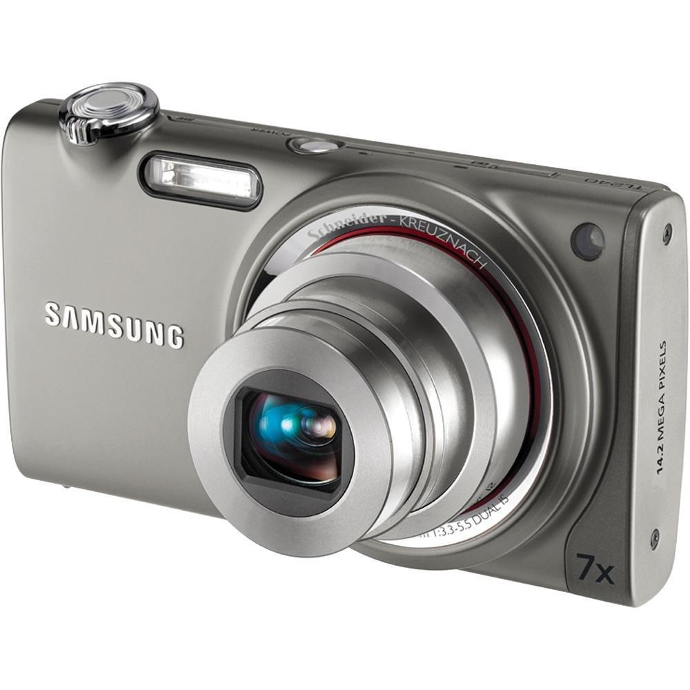 Samsung tl240 14.2 MP 7 x光学ズームデジタルカメラ(グレー)   B0036RH1NI