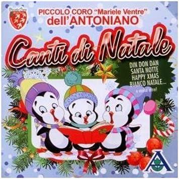 Coro Di Natale.Piccolo Coro Dell Antoniano Canti Di Natale Amazon Com Music