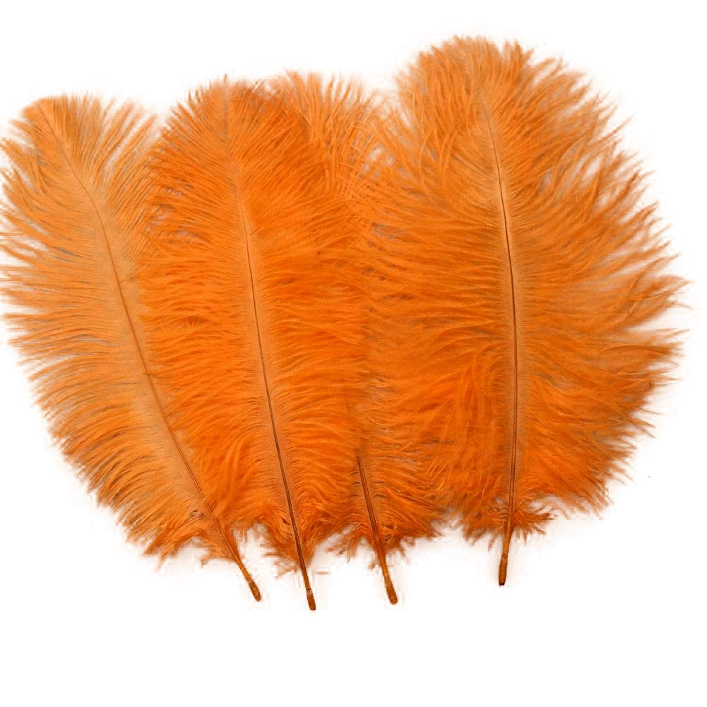 Ostrich Feathers Plume Wedding Centerpieces Home Decoration 25-30cm Gray Sowder 20pcs Natural 10-12inch