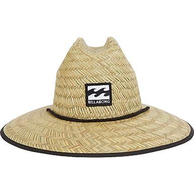 Chapéu de Palha Surf Billabong Tides Pipe Print  Amazon.com.br ... 486d880c582
