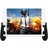 Game Controller for iPad Sensitive Aim and Fire Triggers for PUBG Mobile Gamepad for for PUBG/Knives Out Support 4.5-12.9 inc