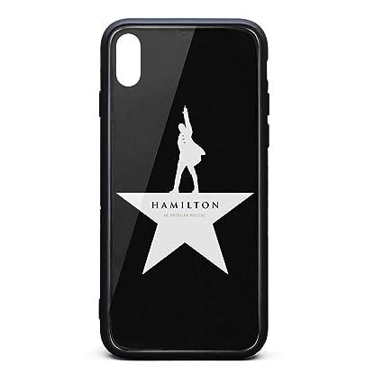 cheap for discount 25beb e488e Amazon.com: iPhone X/XS Case Hamilton-Jazz-Theatre-Punk-Logo ...
