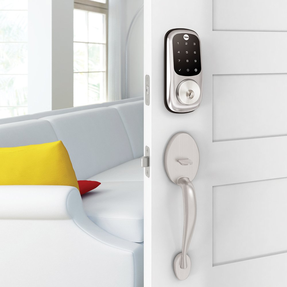 Yale Security YRD226-CBA-619 Assure Connected by August Touchscreen Smart Lock, Satin Nickel - - Amazon.com
