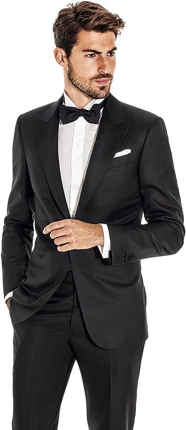 Amazon.com: 100% lino blanco – cuadrado pañuelo de bolsillo ...
