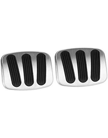 Lokar BAG-6110 Billet Aluminum Brake/Clutch Pad with Rubber
