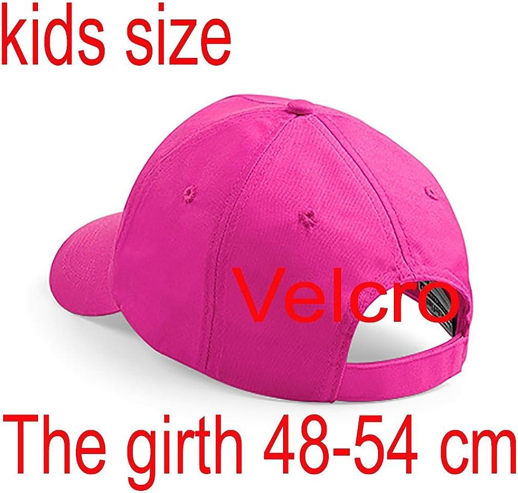 4sold Ricamo Bambino Cotone Estivo Cappello per Il Sole Bambini Scuola Bambini Cappelli Cappello Sport Alfabeto a-z Ragazzo Ragazza Regolabile Berretto da Baseball