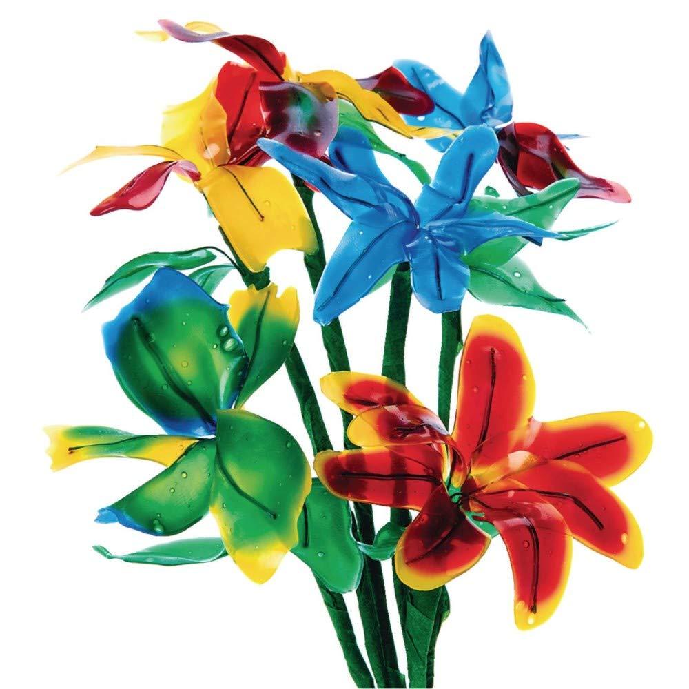 Flexible Fun Flowers Craft Kit (Pack of 24)