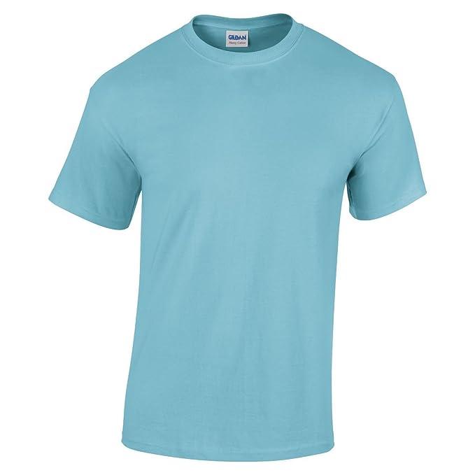 Gildan 5000 Heavy Camiseta de algodón adultos cielo S: Amazon.es: Ropa y accesorios