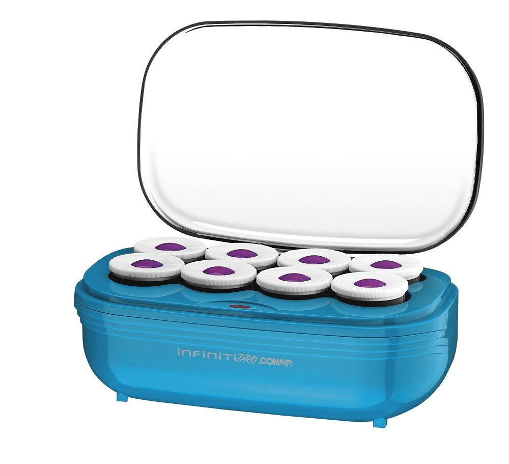 INFINITIPRO BY CONAIR Instant Heat Tourmaline Ceramic Flocked Hot Rollers