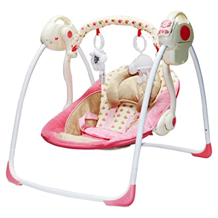 Merveilleux JXWANG Baby Swing Chair And Portable Electric Bouncer With Songs And Sounds  Suitable From 0