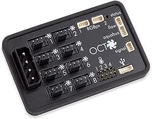 Aqua Computer Octo - Control de Ventilador para Ventilador PWM ...
